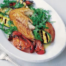 Smoked Mackerel With Quick Grilled Ratatouille