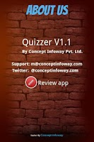 Screenshot of Quizzer