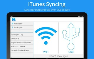 Screenshot of iSyncr : iTunes Sync (Pro)