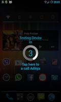 Screenshot of Shake to Call/Message FREE