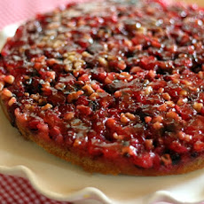 Cranberry Upside - Down Cake