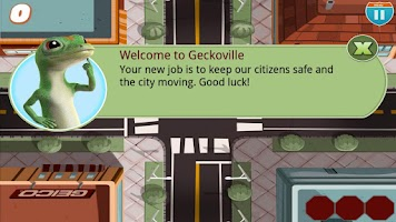Screenshot of GEICO Tricky Traffic