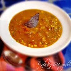 Spicy Pumpkin Soup with Coconut Milk
