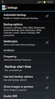 Screenshot of Backup Your Mobile