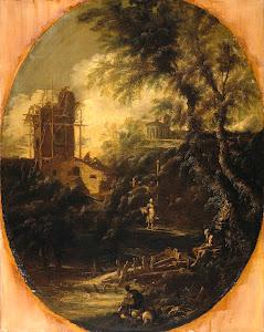 RIJKS: attributed to Antonio Francesco Peruzzini: painting 1740