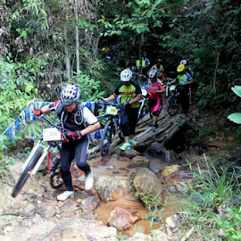 MTB by Wan Azizul Azar Aziz - Sports & Fitness Cycling ( x country )