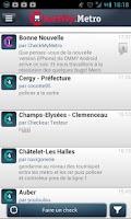 Screenshot of CheckMyMetro Paris