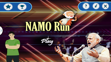 Screenshot of Namo Run Attack