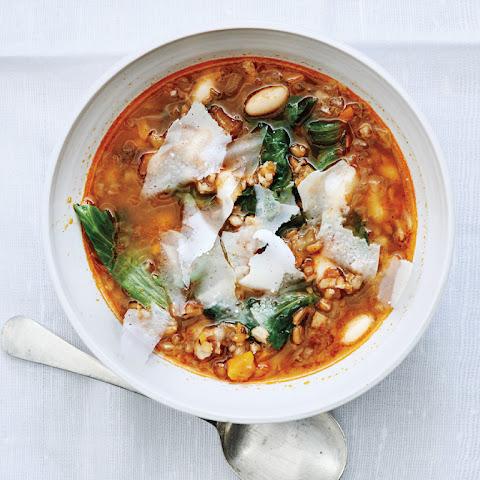 White+bean+pancetta+escarole+soup Recipes | Yummly