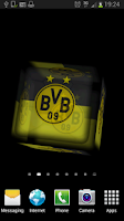 Screenshot of Ball 3D Borussia Dortmund LWP