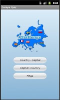 Screenshot of Europe Quiz