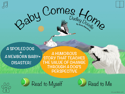 Baby Comes Home: Dudley Doodle - screenshot