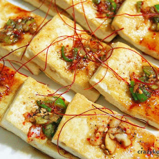 Pan-fried Tofu, Dubu Buchim