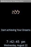 Screenshot of Meditation on the 72 Names