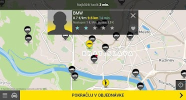 Screenshot of HOPIN TAXI
