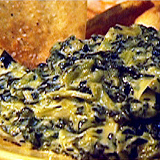 Collard Green and Artichoke Dip