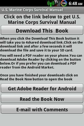 Marine Corps Survival Manual