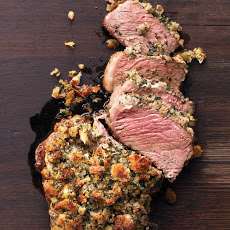 Rib Roast with Herb Crust
