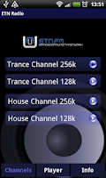 Screenshot of ETN Radio Player