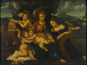 RIJKS: attributed to Francesco Torbido: painting 1525