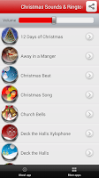 Screenshot of Christmas Sounds & Ringtones