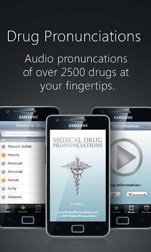 Drug Pronunciations - Android Apps on Google Play
