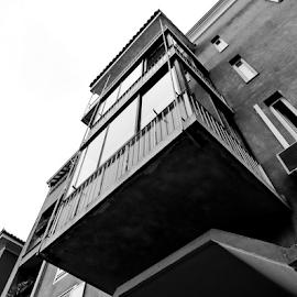Where is Juliet? by Renato Dibelčar - Buildings & Architecture Homes ( juliet, strasse, izola, building, sky, romeo, street, slovenia, haus, balcony )