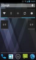 Screenshot of Data enable widgets