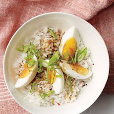 Eggs with Rice and Soy Dressing