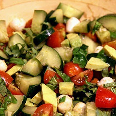 Recipe For Cucumber Caprese Salad