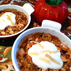 Ginger-Pear Crisp