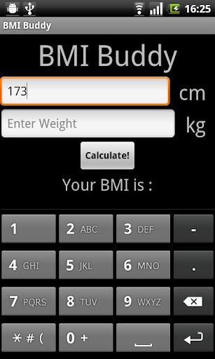 【免費健康App】BMI Buddy (a BMI Calculator)-APP點子