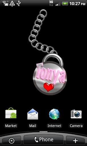 Tonya Name Tag