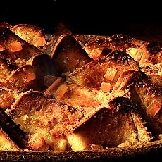 Chunky Marmalade Bread and Butter Pudding