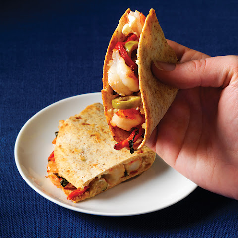 Tequila Shrimp And Asadero Quesadillas Recipes — Dishmaps