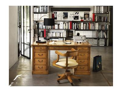 Acheter bureau de notaire office bois cuir à kingersheim chez