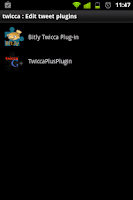 Screenshot of Bitly plugin for Twicca