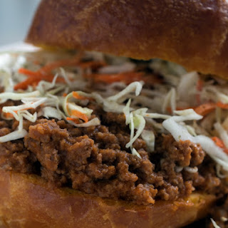 Sloppy Joe Goat Sliders