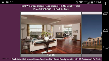 Screenshot of BHHS NC Real Estate