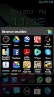 Screenshot of InstaDock App Organizer