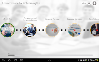 Screenshot of Learn Finance by GoLearningBus