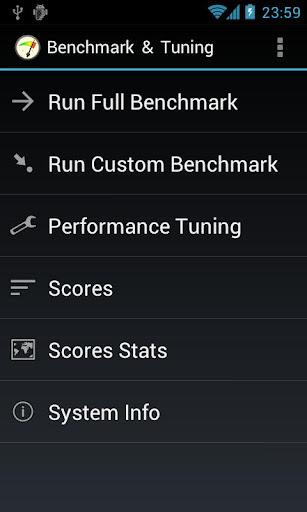 Benchmark Tuning Full