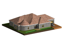 Ismael's House Project Designed in ArchiCAD