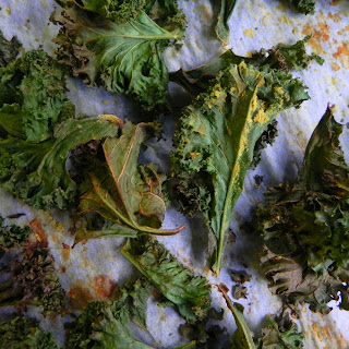 Cheesy Oil Free Kale Chips {Vegan}