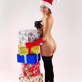 Merry Christmas! by Meelis Adamson - Nudes & Boudoir Boudoir