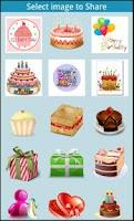 Screenshot of Birthday icons