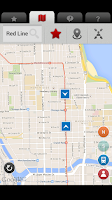 Screenshot of Addison - CTA Live Tracker