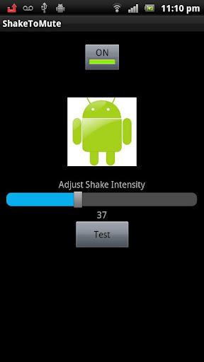 Shake to mute