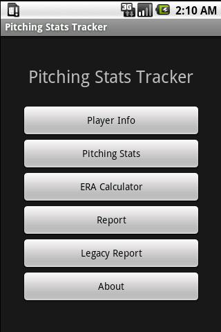 Youth Baseball Pitching Stats