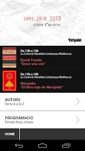 Sant Jordi 2013 - Autors - screenshot